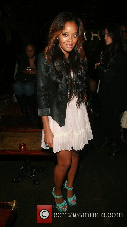 Angela Simmons  attend Rachel Roy's After Party...