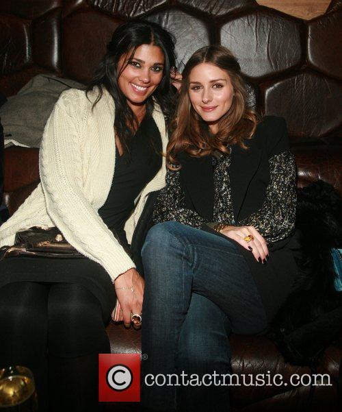 Rachel Roy and Olivia Palermo  attend Rachel...