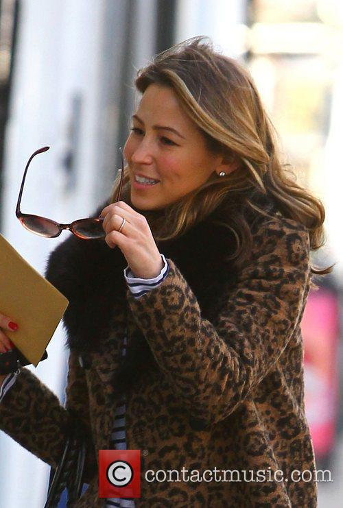 Rachel Stevens out and about in Primrose Hill...