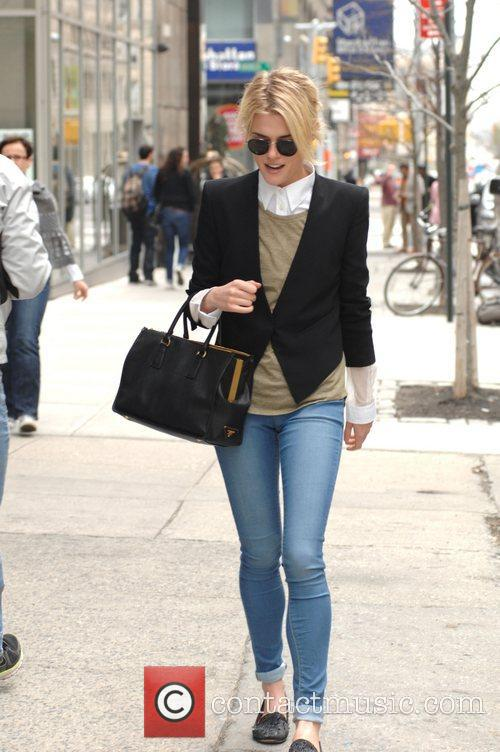 Actress Rachel Taylor is seen taking a stroll...