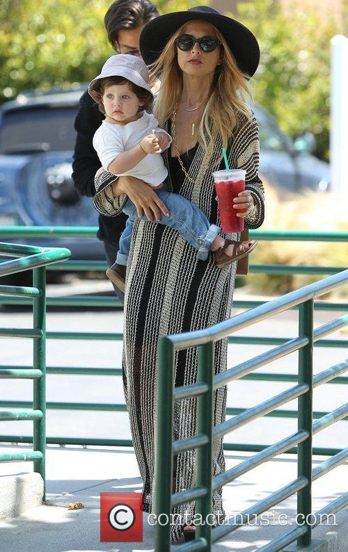 Rachel Zoe at Malibu Country Mart with her...