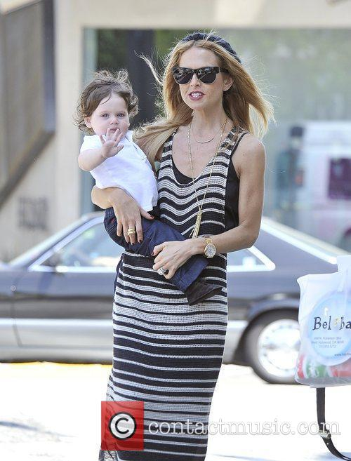 Rachel Zoe and her son Skyler Berman are...