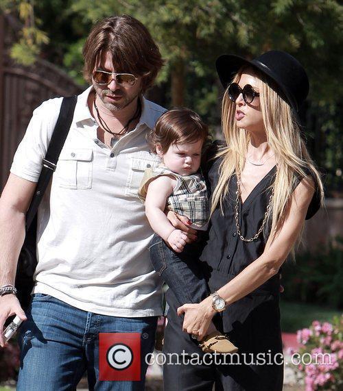 Rachel Zoe, her husband Rodger Berman and her...
