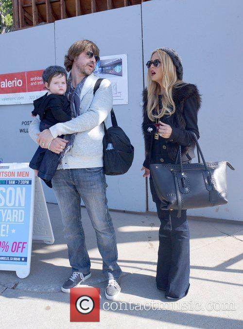 Rachel Zoe and husband Rodger Berman spend the...
