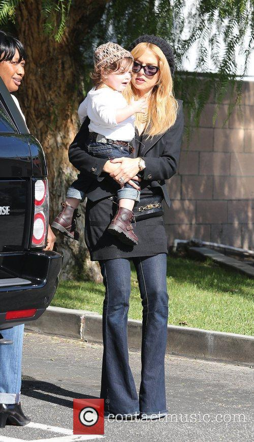 Rachel Zoe, Rodger Berman, Skyler and West Hollywood 2