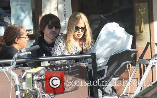 Rachel Zoe with husband Rodger Berman out having...