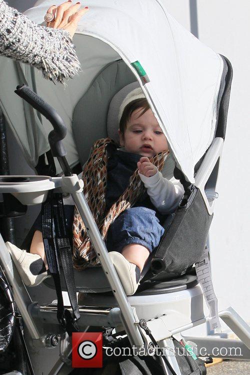 Rachel Zoe's son Skyler Bermanout at Jack n...