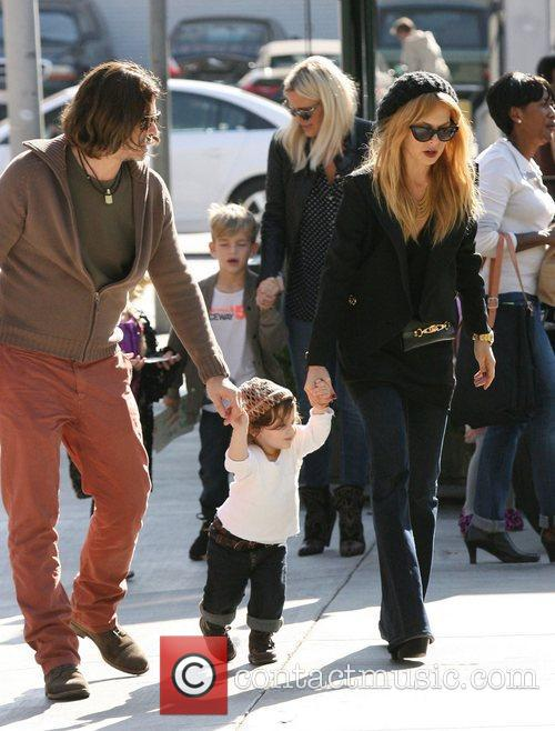 Rachel Zoe, Rodger Berman, Skyler, Hugo and West Hollywood 7