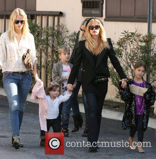 Rachel Zoe with her son Skyler  at...