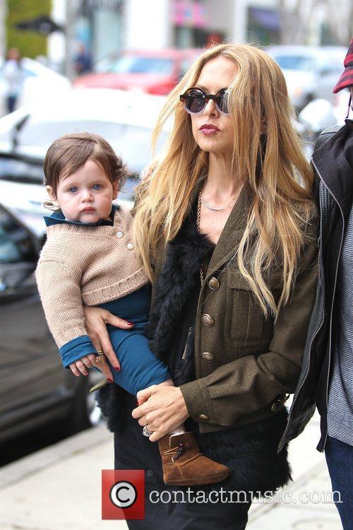 Rachel Zoe and her son Skyler Berman are...