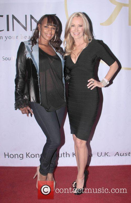 Jackie Christie and Leslie Birkland  attends the...