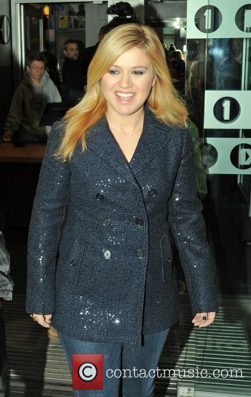 Celebrities at the BBC Radio 1 studios...