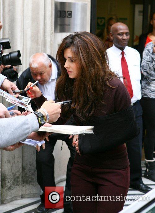 Cheryl Cole  leaves the BBC Radio 1...