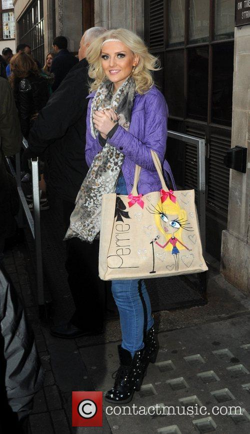 Perrie Edwards Little Mix leave the BBC Radio...