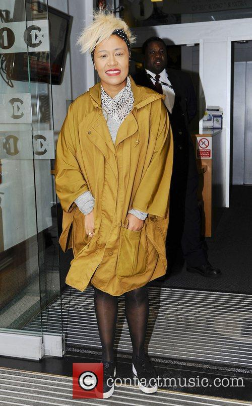 emeli sande arrives at the bbc radio 3974118
