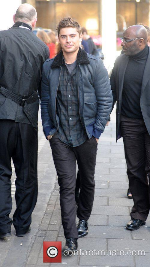 zac efron at the bbc radio 1 3634017