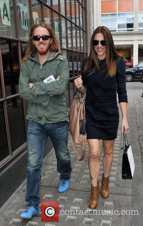 Tim Minchin, Mel C and Melanie Chisholm 2