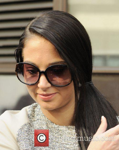tulisa contostavlos at the bbc radio 1 3813539