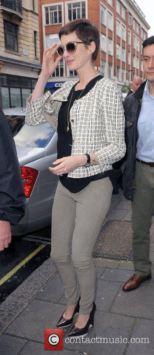 anne hathaway leaving the bbc radio 1 3997420