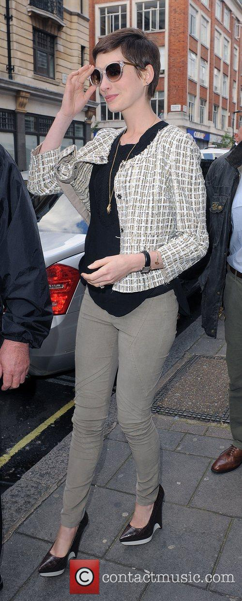 anne hathaway leaving the bbc radio 1 3997428