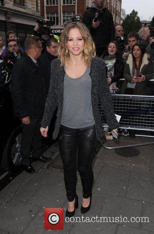 Kimberley Walsh, Girls Aloud and Radio 1
