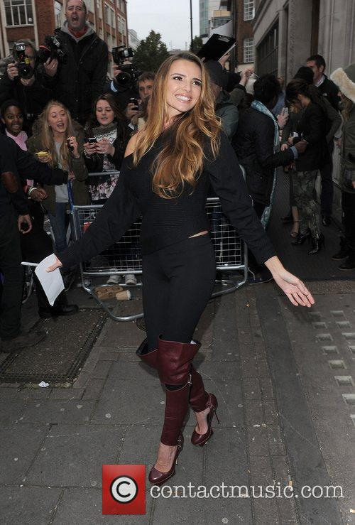 Nadine Coyle, Girls Aloud and Radio 8