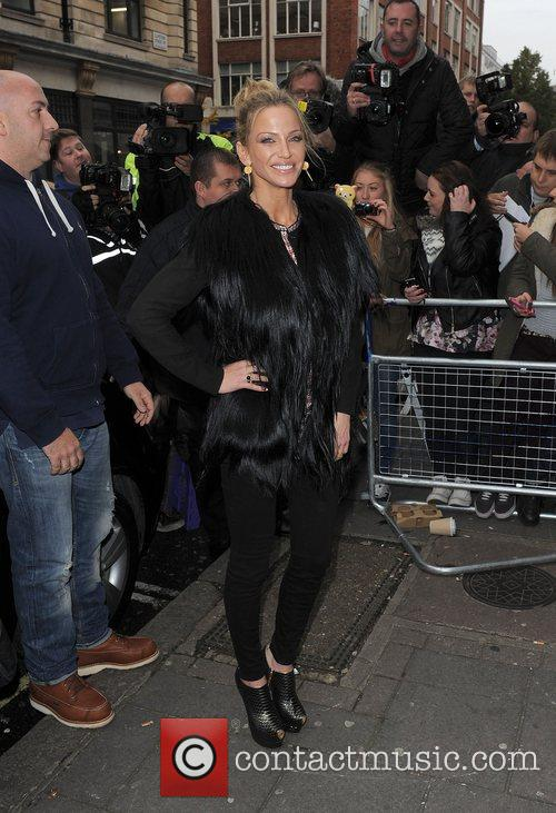 Sarah Harding, Girls Aloud and Radio 10