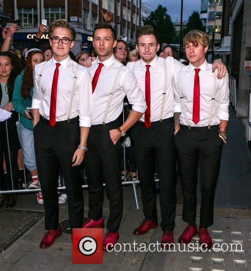 Tom Fletcher, Harry Judd, Danny Jones and Dougie Poynter 4