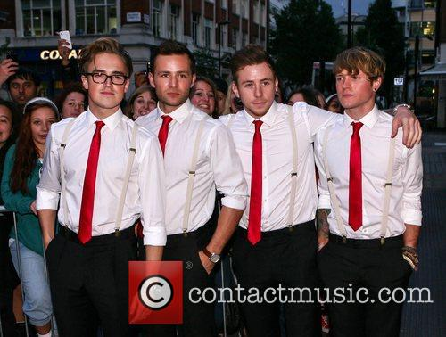 Tom Fletcher, Harry Judd, Danny Jones and Dougie Poynter 3