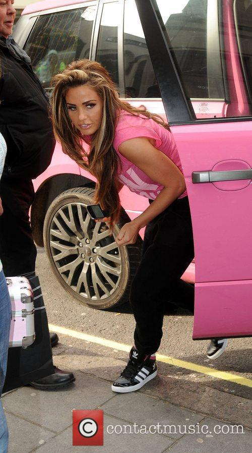katie price sport relief celebrities outside the 3793053
