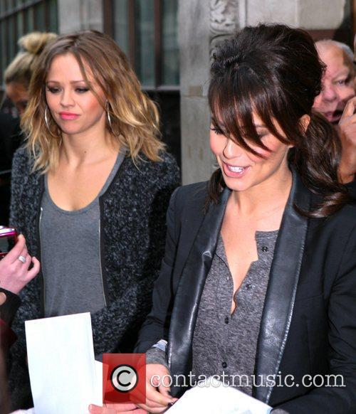 Kimberly Walsh, Cheryle Cole, Girls Aloud, Kiss Fm, London, England and Mandatory 3