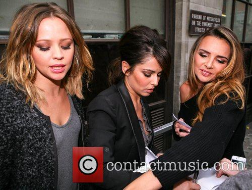Kimberly Walsh, Cheryl Cole, Nadine Coyle, Girls Aloud, Radio, London, England and Mandatory 2