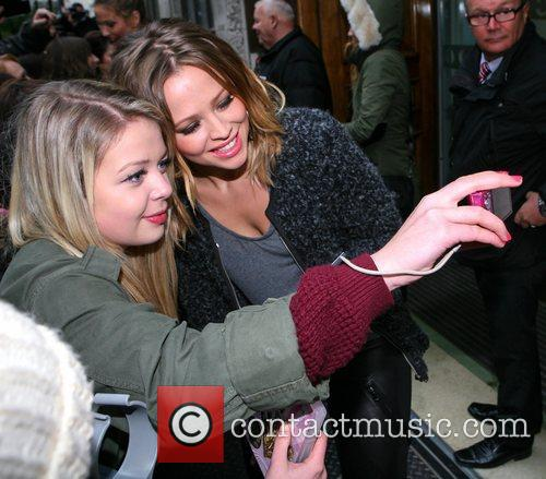 Kimberly Walsh, Girls Aloud, Kiss Fm, London, England and Mandatory 4