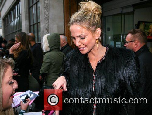 Sarah Harding Girls Aloud, Radio, London, England, Mandatory