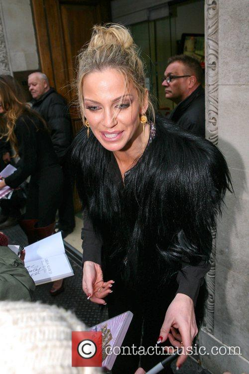 Sarah Harding Girls Aloud, Radio, London, England and Mandatory 10