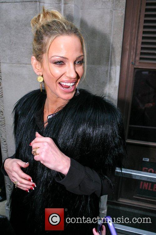 Sarah Harding Girls Aloud, Radio, London, England and Mandatory 7
