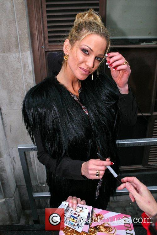 Sarah Harding Girls Aloud, Radio, London, England and Mandatory 8