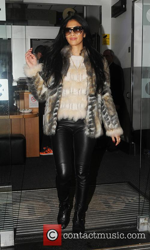Nicole Scherzinger and Radio 5