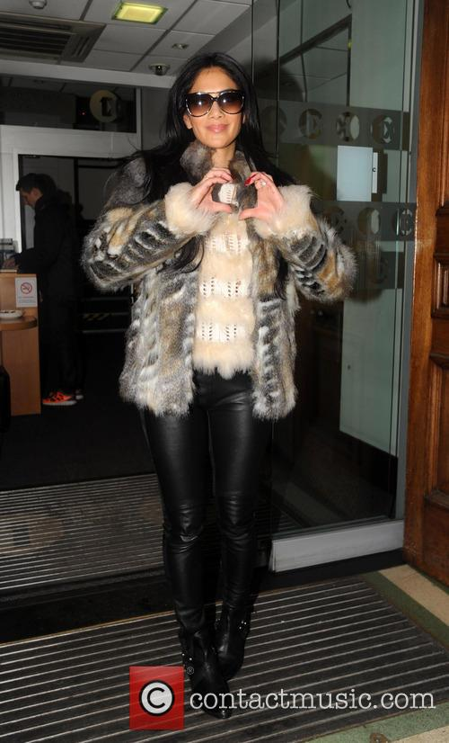Nicole Scherzinger and Radio 6