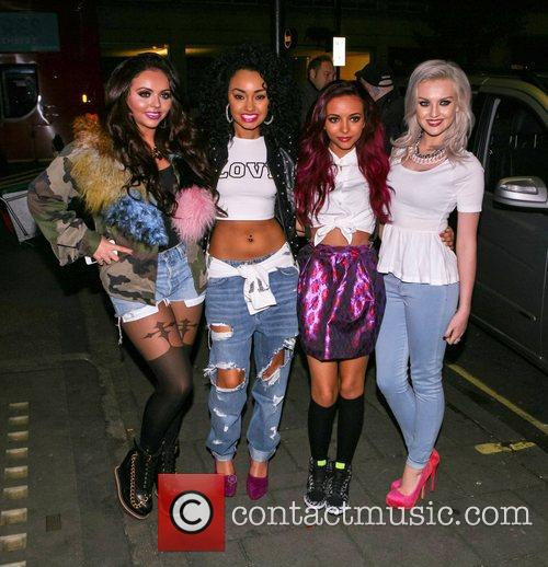 Jesy Nelson, Leigh-Anne Pinnock, Jade Thirlwall and Perrie...