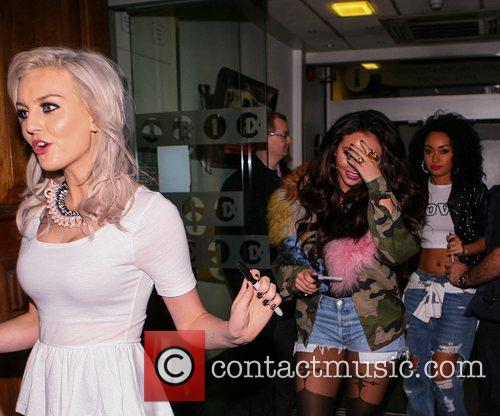 Perrie Edwards, Jesy Nelson, Leigh-anne and Pinnock 2