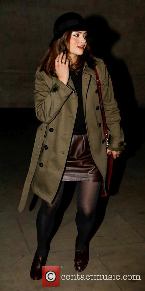 Jenna-Louise Coleman Celebrities arrive at the BBC Radio...
