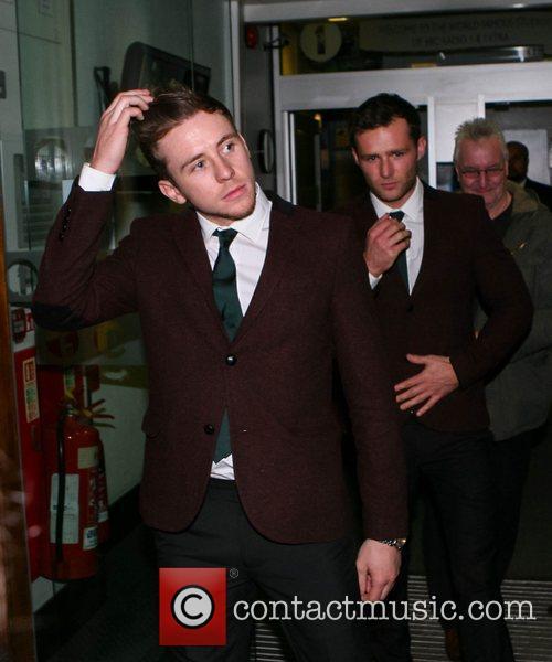 McFly at the BBC Radio 1 studios