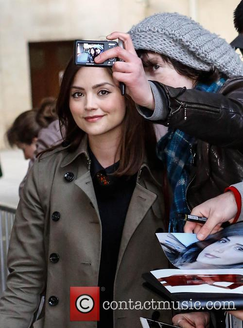 Jenna-Louise Coleman Celebrities at the BBC Radio 1...