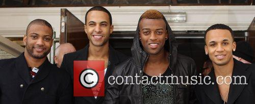 Jonathan Gill, Aston Merrygold and Jls 6