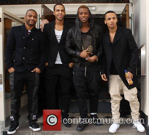 Jonathan Gill, Aston Merrygold and Jls 8