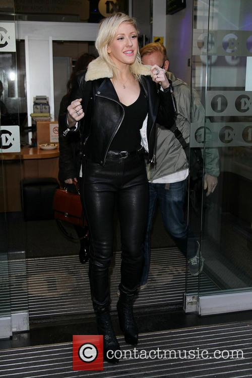 Celebrities outside the BBC Radio 1 studios...