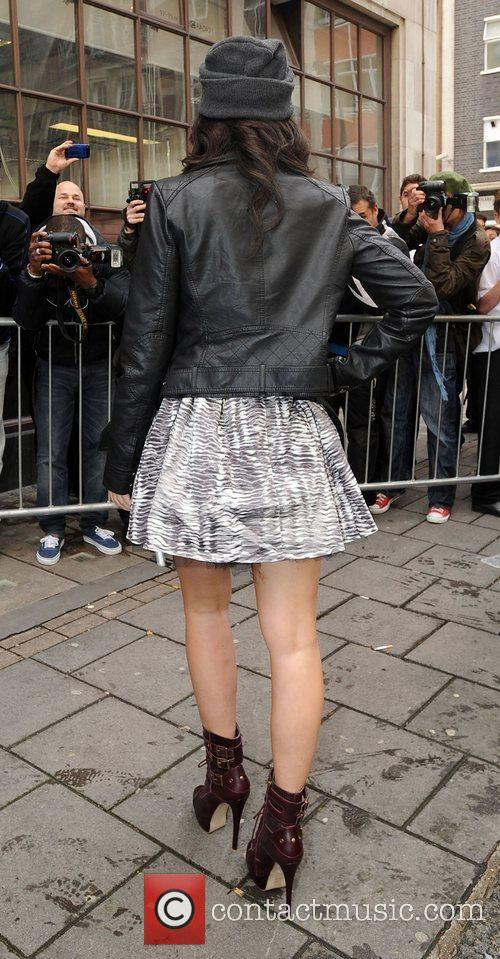 tulisa contostavlos at the bbc radio 1 4111259
