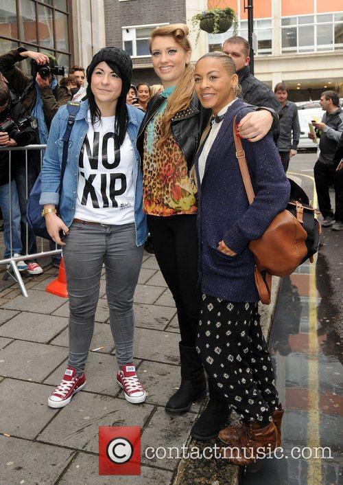 X Factor finalists Lucy Spraggan, Ella Henderson and...