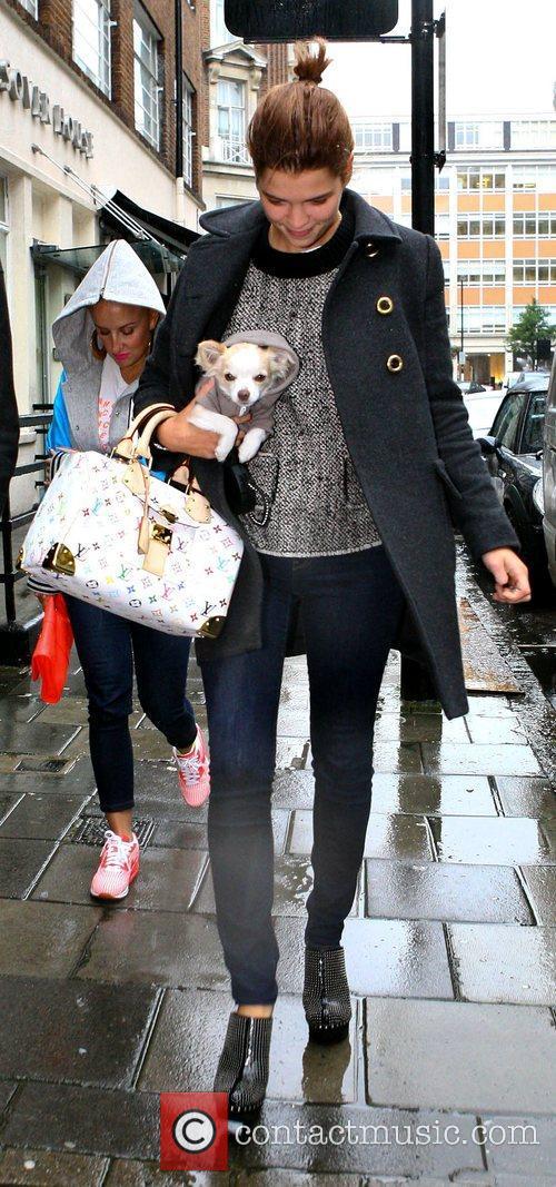 Pixie Geldof  arrives at the BBC Radio...